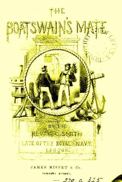 Page de couverture du Boatswain's mate, édition de 1812.
