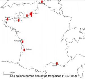 Les sailor's homes des côtes françaises (1840-1900)