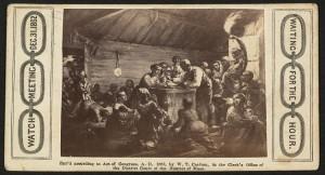 """La longue veille de 1862, """"emancipation eve"""""""
