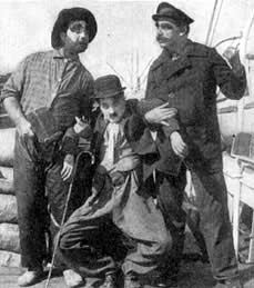 Charlot marin, 1915.