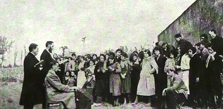 Hector Arnéra à Saint-Géniès de Malgloirès, octobre 1934
