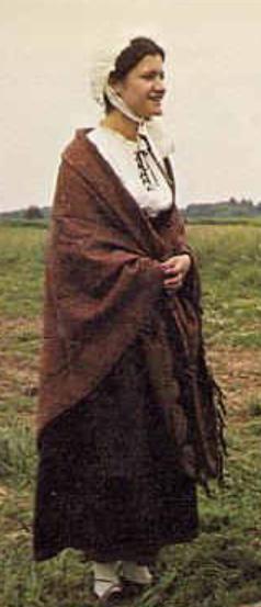 Costume XIXe siècle de la vallée de la Bruche