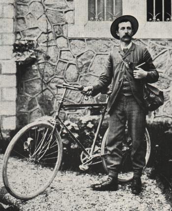 Le colporteur Luigi Arnéra vers 1908