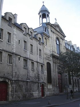 Temple luthérien-église des Billettes