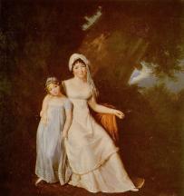 Albertine et Germaine de Staël