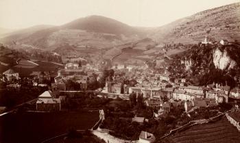 Meyrueis au début du XXe siècle. (Wiki commons)