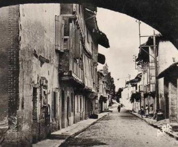 Une rue de Réalville autrefois...