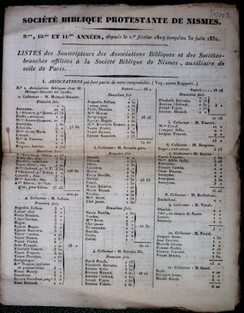 collecteurs Nîmes
