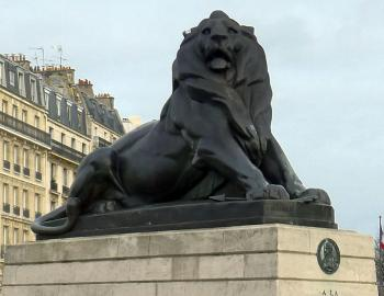 Lion de Belfort Paris
