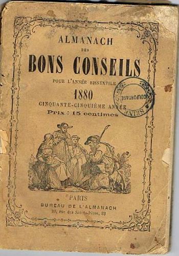 Alamanch des bons conseils 1880
